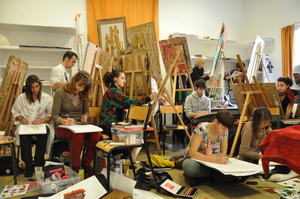 Andea coles classes pr paratoires for Vae architecte